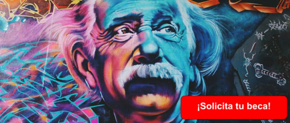 logo de la convocatoria- Einstein