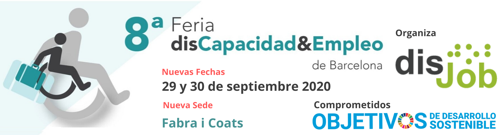 8ª Feria disCapacidad&Empleo de Barcelona