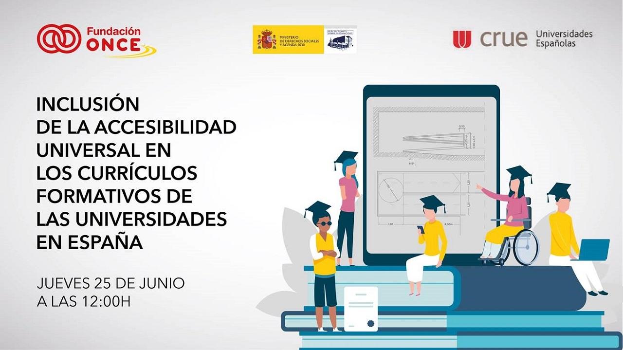 """Presentación del Estudio """"inclusión de la accesibilidad universal en los curriculos formativos de las universidades en España"""""""