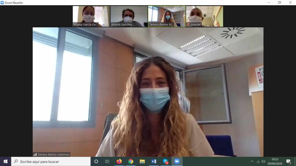 Reunión de coordinación con ONCE – Cádiz