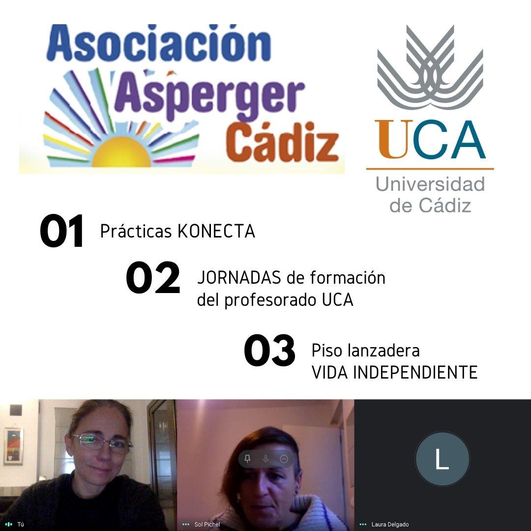 Reunión técnica con la Asociación Asperger TEA- Cádiz