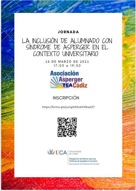 IMG Jornada La inclusión del alumnado con Síndrome de Asperger en el contexto universitario
