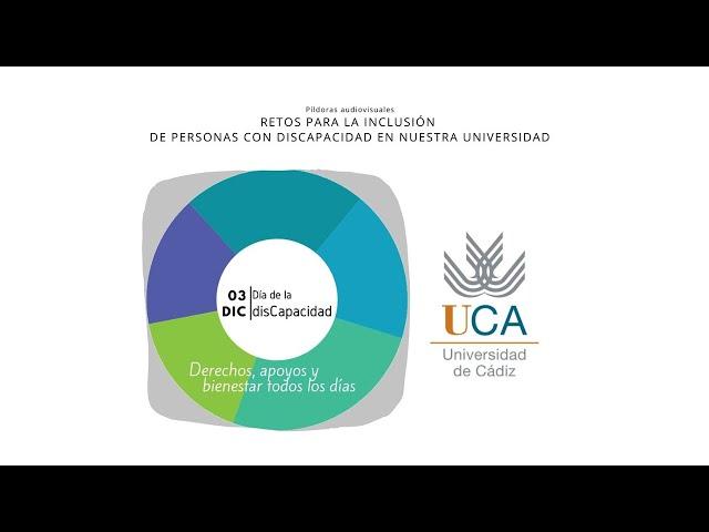 """IMG Píldora """"Políticas de inclusión del PDI universitario en situación de disCapacidad"""""""